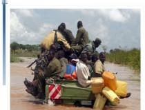 En route to Kidepo Valley National Park, Uganda
